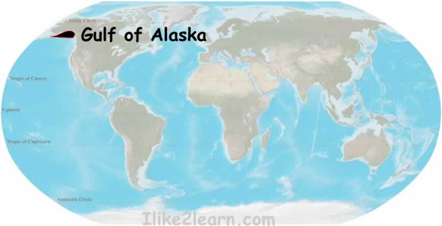 Gulfofalaskag travel and tour the worlds oceans including the gulf of alaska with the world oceans and seas map quiz learn the major seas gulfs and bays of the gumiabroncs Image collections