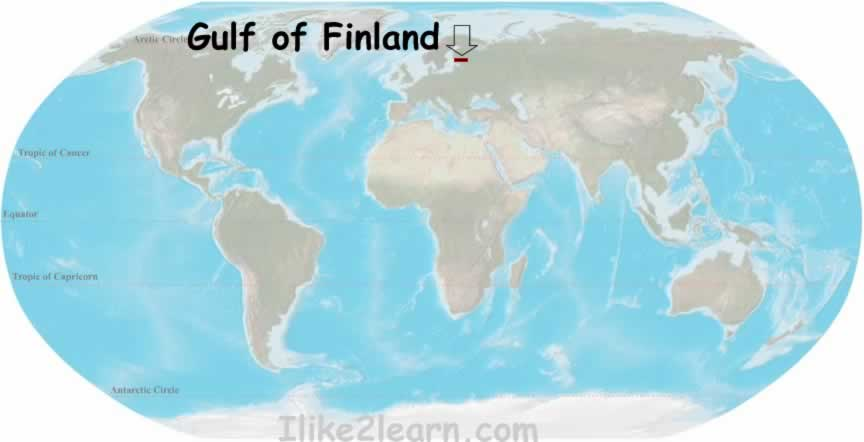 Gulfoffinlandg travel and tour the worlds oceans including the gulf of finland with the world oceans and seas map quiz learn the major seas gulfs and bays of the publicscrutiny Images