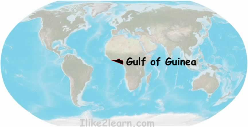 Gulf Of Guinea Map