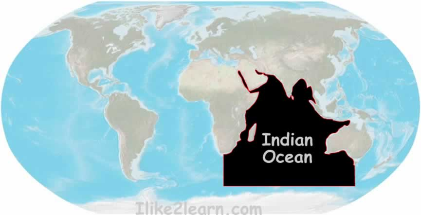 Osian India  City pictures : ... including the Indian Ocean with the World Oceans and Seas Map Quiz