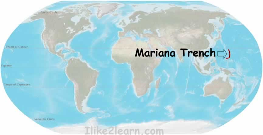 The world geography top 5 deepest ocean trenches the mariana trench is the deepest part of the worlds oceans and the lowest elevation of the surface of the earths crust it is located in the western gumiabroncs Image collections