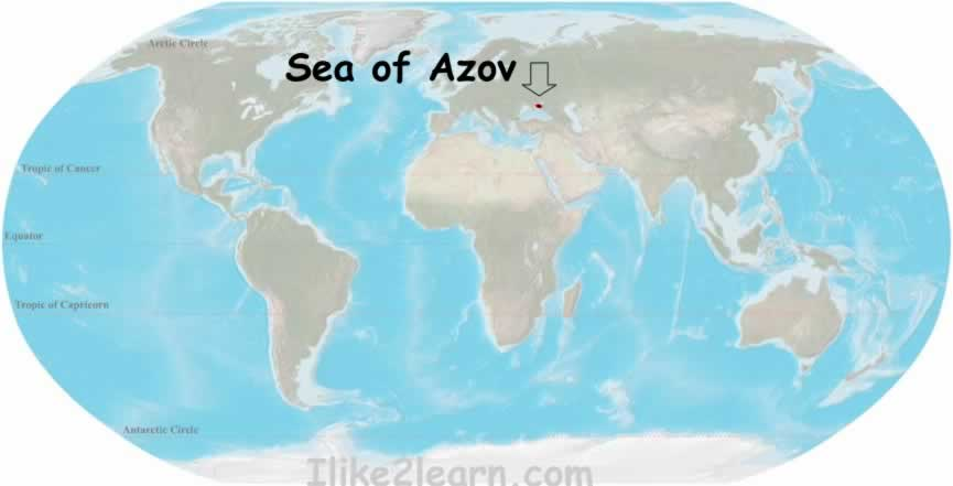 Seaofazovg travel and tour the worlds oceans including the sea of azov with the world oceans and seas map quiz learn the major seas gulfs and bays of the atlantic gumiabroncs Choice Image