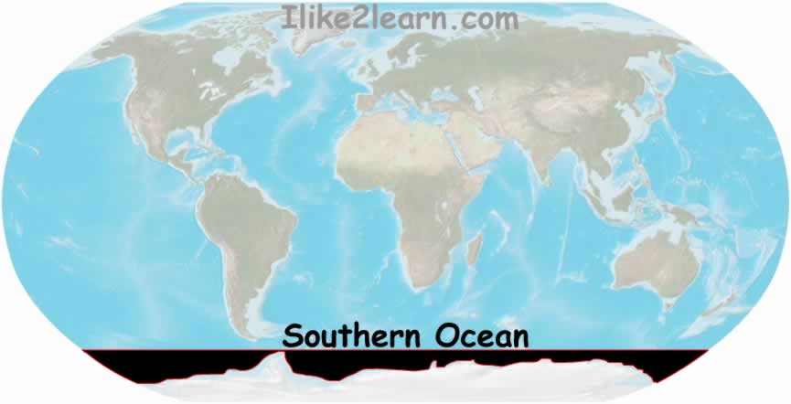 Southern Ocean Map